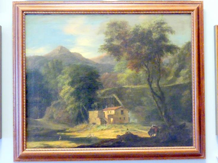 Christoph Ludwig Agricola: Wassermühle in einer Berglandschaft, um 1700