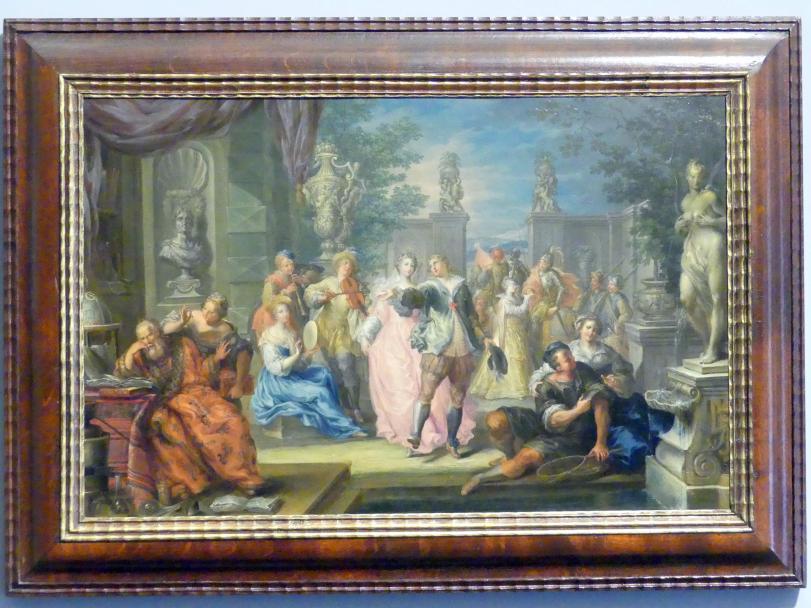 Johann Georg Platzer: Allegorie der Musik, um 1730