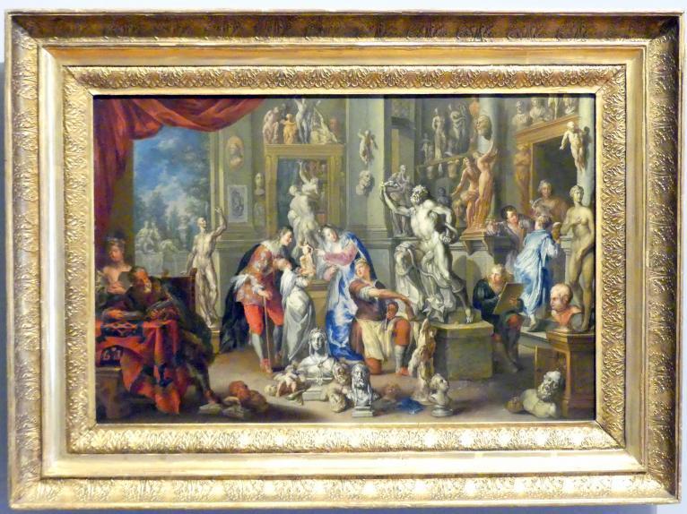 Johann Georg Platzer: Allegorie der Skulptur, um 1730
