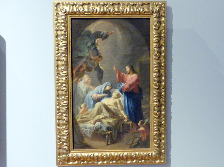 Paul Troger (Nachfolger): Tod des Heiligen Josef, um 1740