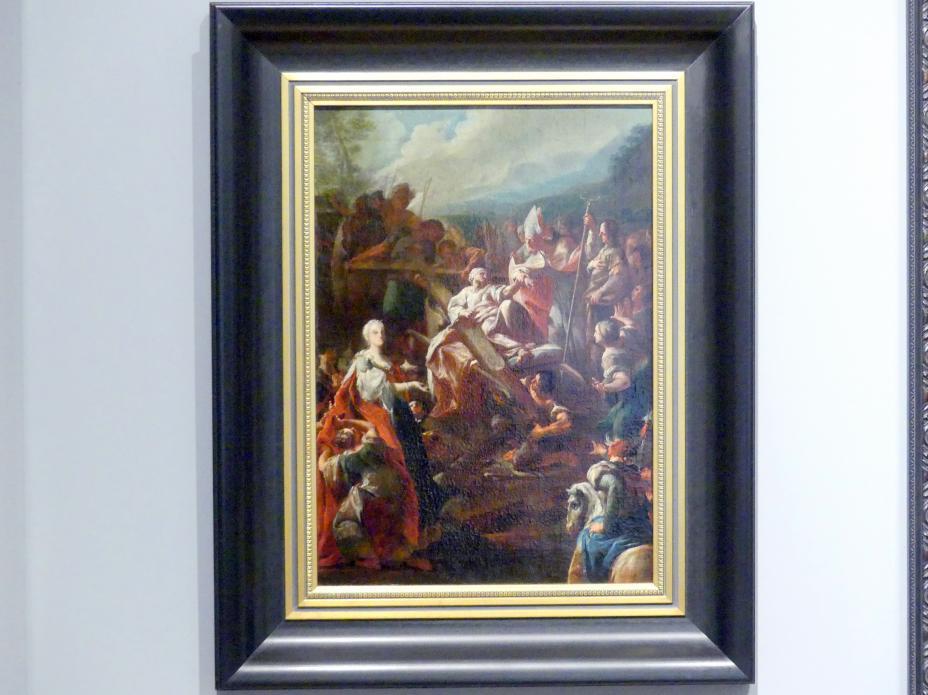 Paul Troger: Kreuzauffindung der Kaiserin Helena, Um 1750