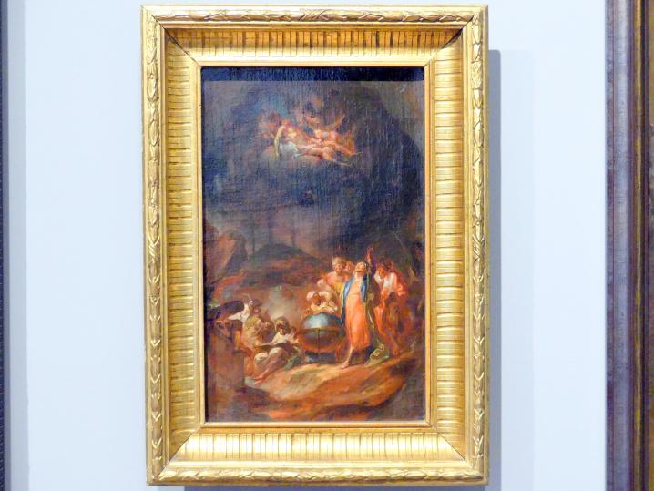 Martin Johann Schmidt (Kremser Schmidt): Abraham lehrt den Ägyptern Astronomie, um 1770
