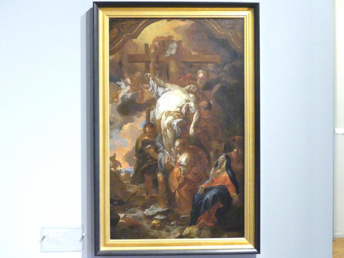 Johann Michael Rottmayr: Kreuzabnahme, um 1704