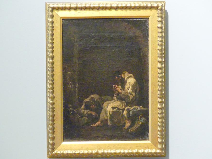 Alessandro Magnasco: Zwei betende Kapuziner, 1710 - 1720