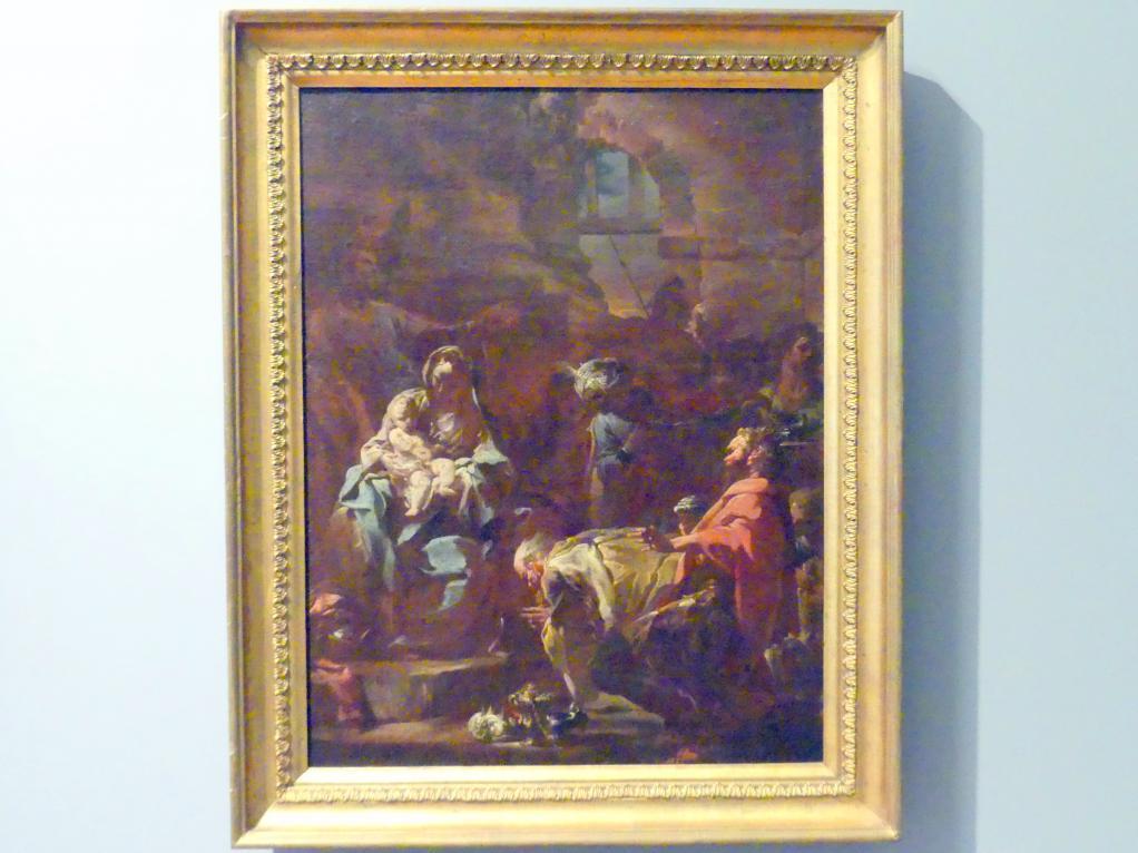 Corrado Giaquinto: Anbetung der Könige, um 1750