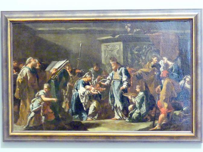 Anton Kern: Beschneidung Christi, 1730