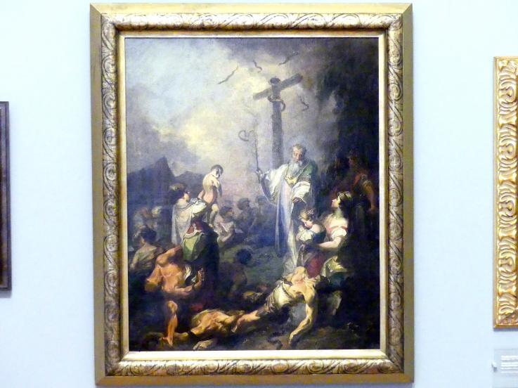 Johann Baptist Wenzel Bergl: Erhöhung der ehernen Schlange, um 1760