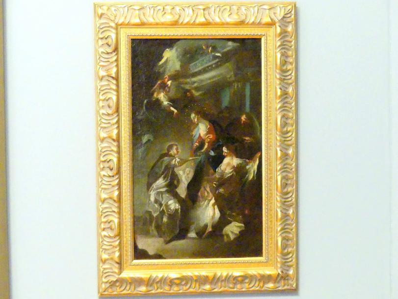 Franz Anton Maulbertsch: Mystische Verlobung des seligen Hermann Joseph mit Maria, Um 1780