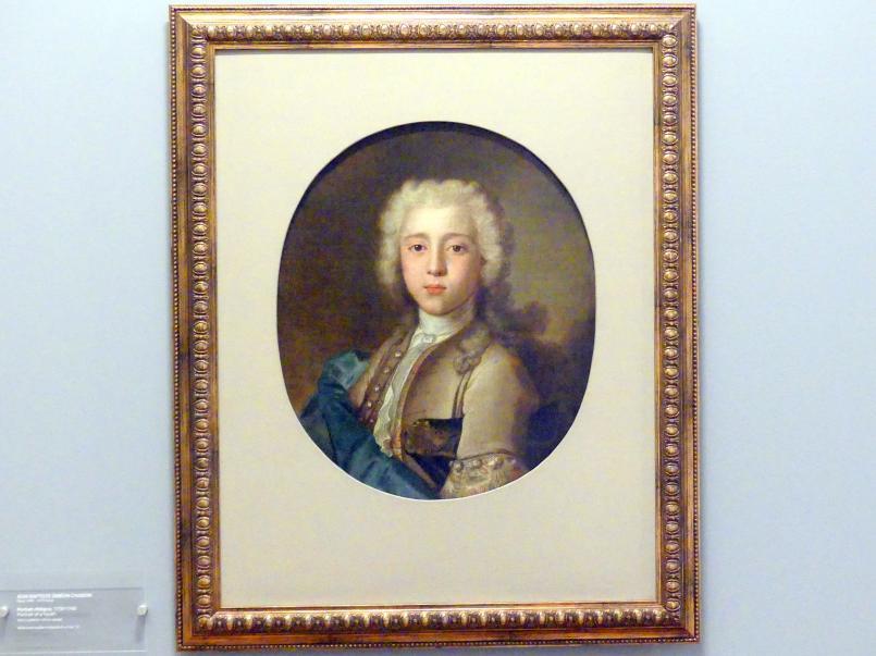 Jean Siméon Chardin: Porträt eines Jünglings, 1730 - 1740
