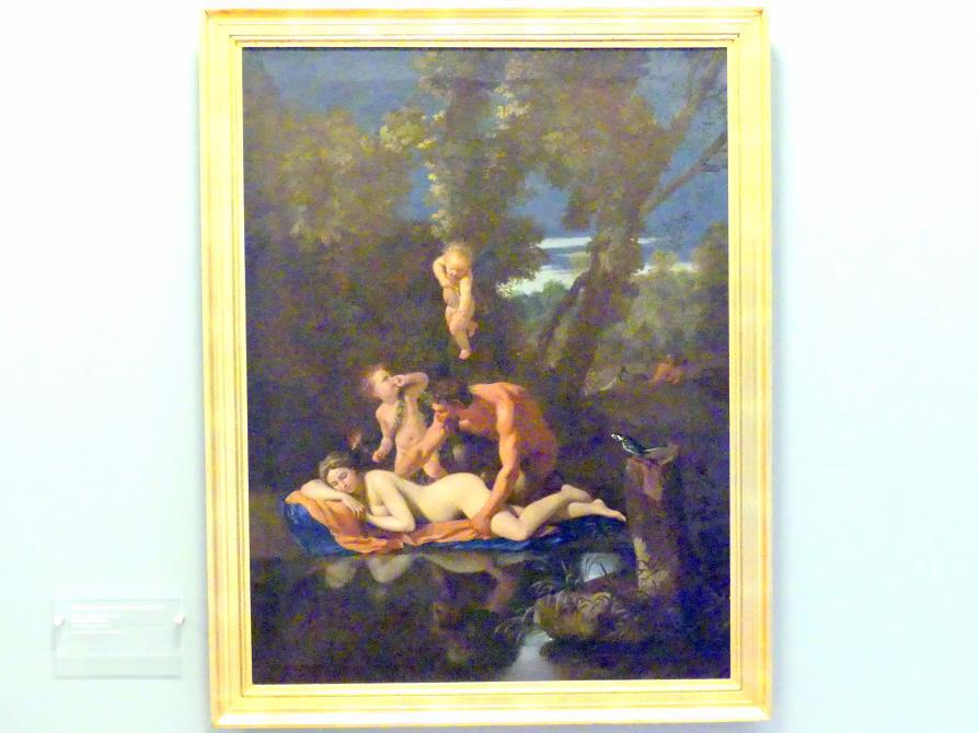 Jupiter und Antiope, um 1650