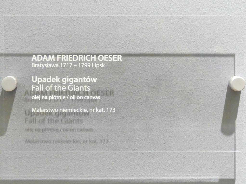Adam Friedrich Oeser: Sturz der Titanen, Undatiert, Bild 2/2