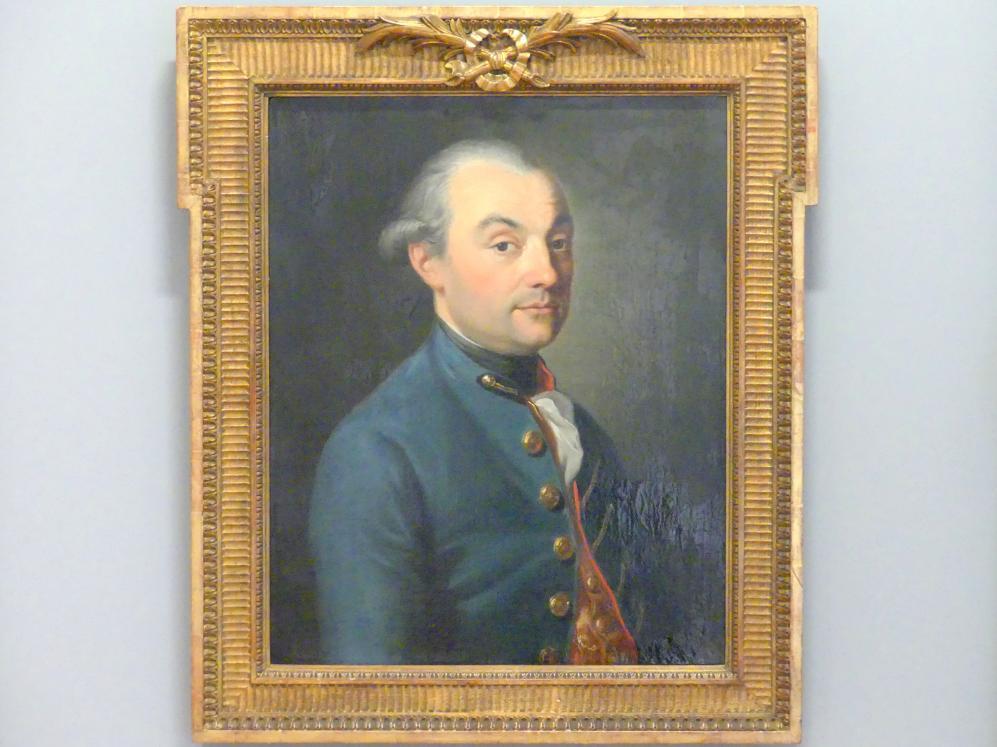 August Friedrich Oelenhainz: Porträt eines Mannes, 1781