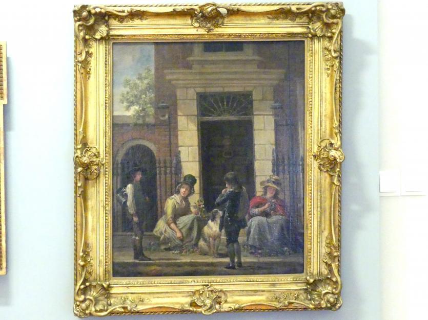 Martin Ferdinand Quadal: Straßenszene, 1792