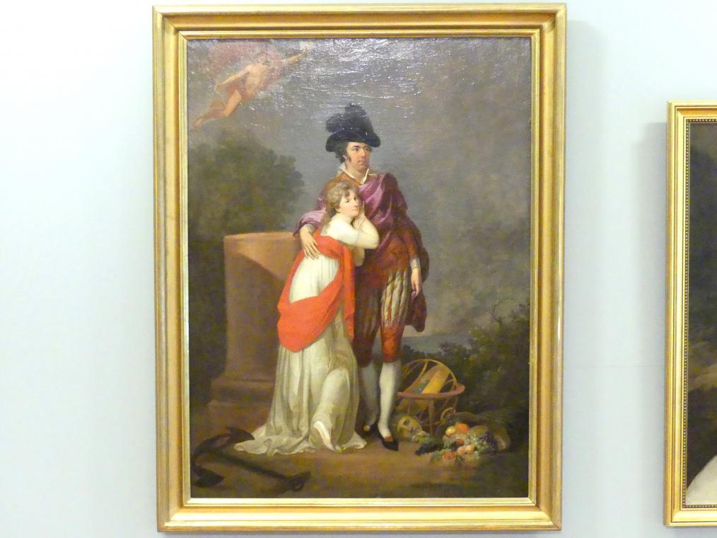 Johann Friedrich August Tischbein: Schauspielerpaar, 1795 - 1805