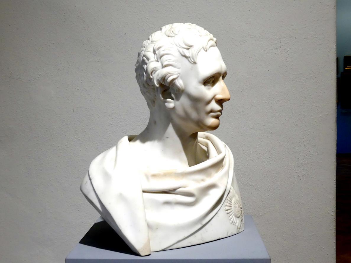 Karl Wichmann: Porträt des Carl Friedrich Heinrich Graf von Wylich und Lottum (1767-1841), 1834