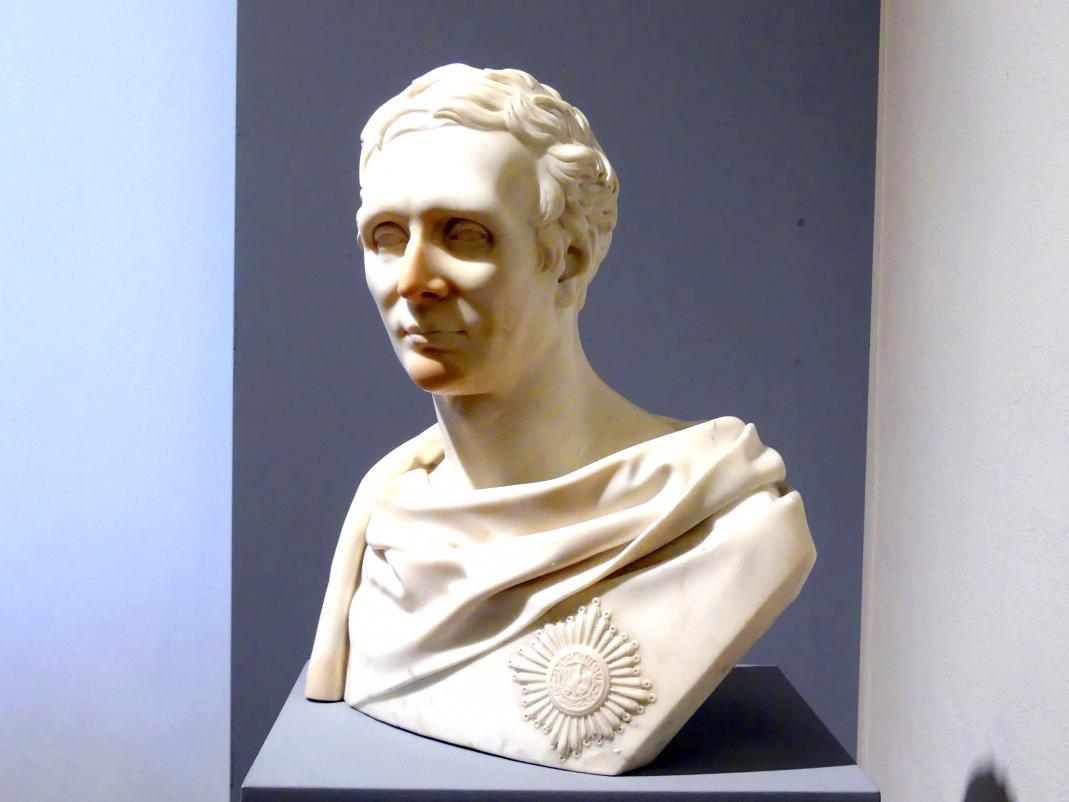 Karl Wichmann: Porträt des Carl Friedrich Heinrich Graf von Wylich und Lottum (1767-1841), 1834, Bild 2/4