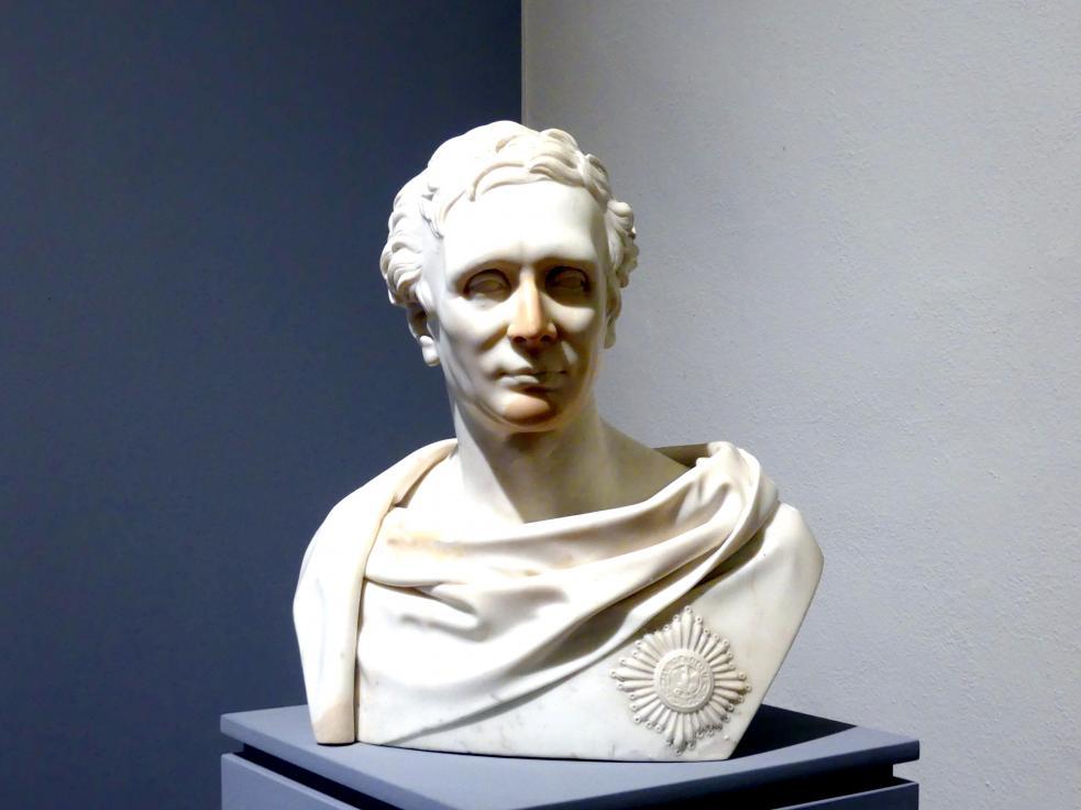 Karl Wichmann: Porträt des Carl Friedrich Heinrich Graf von Wylich und Lottum (1767-1841), 1834, Bild 3/4
