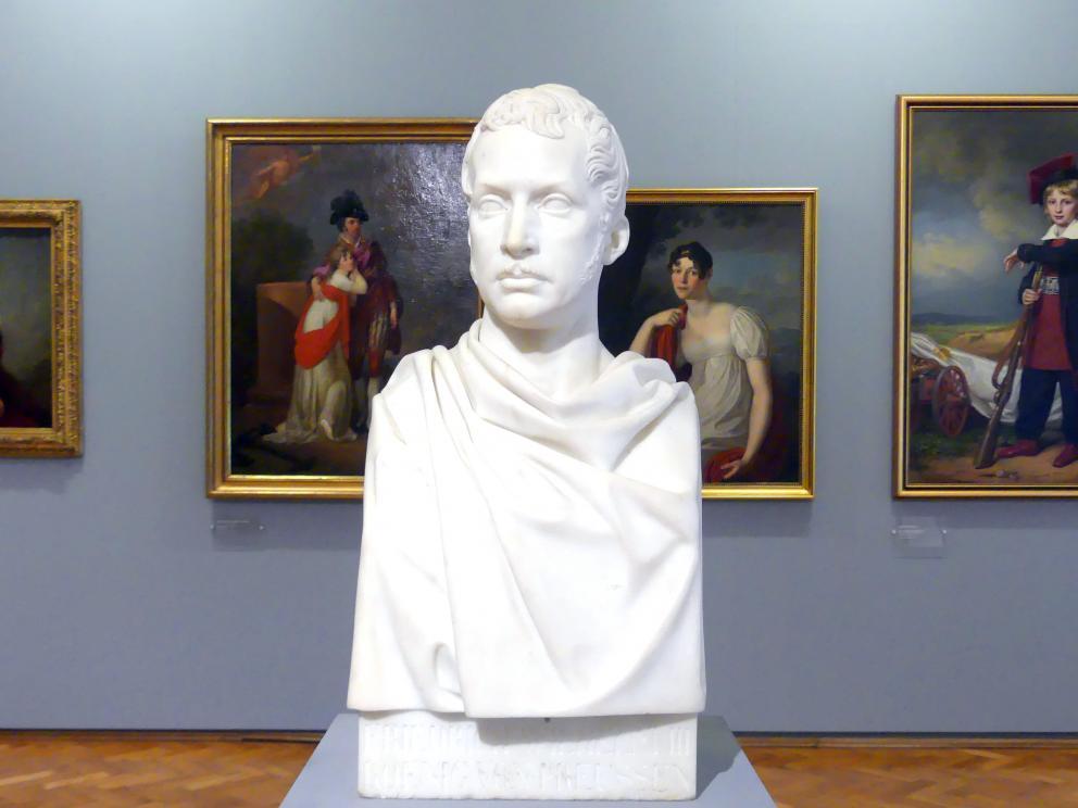 Christian Daniel Rauch: Porträt des Friedrich Wilhelm III. (1770-1840), König von Preußen (1797-1840), 1811