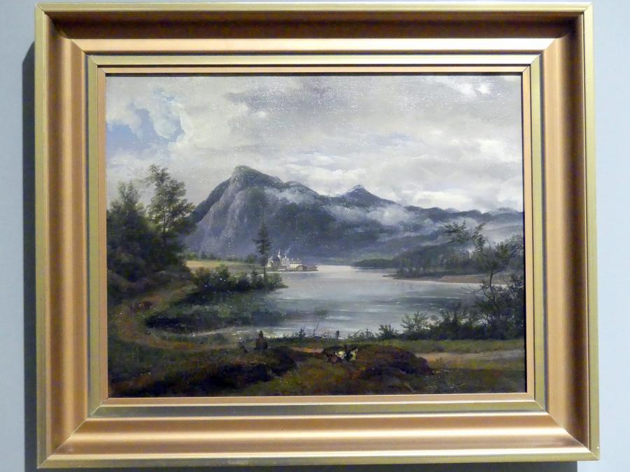 Johan Christian Clausen Dahl: Blick auf den Walchensee, 1831