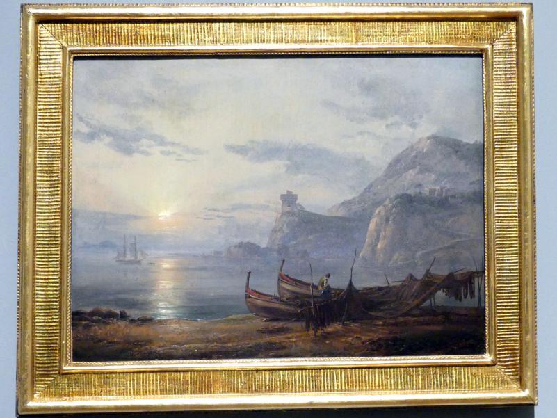 Johan Christian Clausen Dahl: Morgens am Ufer der Insel Ischia, 1822