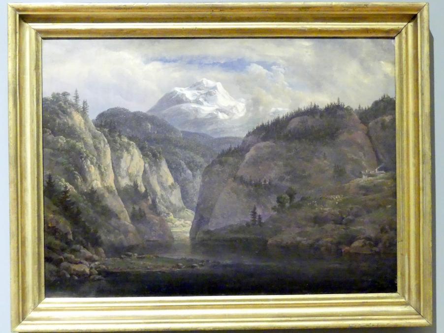 Johan Christian Clausen Dahl: Tiroler Landschaft, 1822