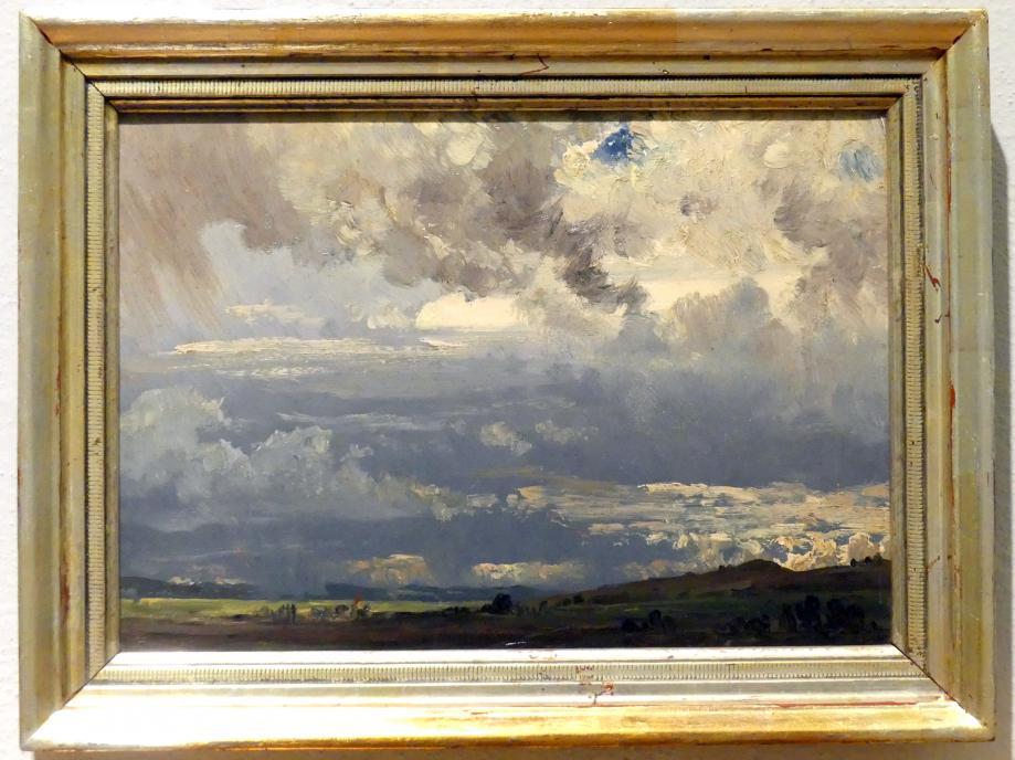 Friedrich Philipp Reinhold: Wolkenstudie, um 1815