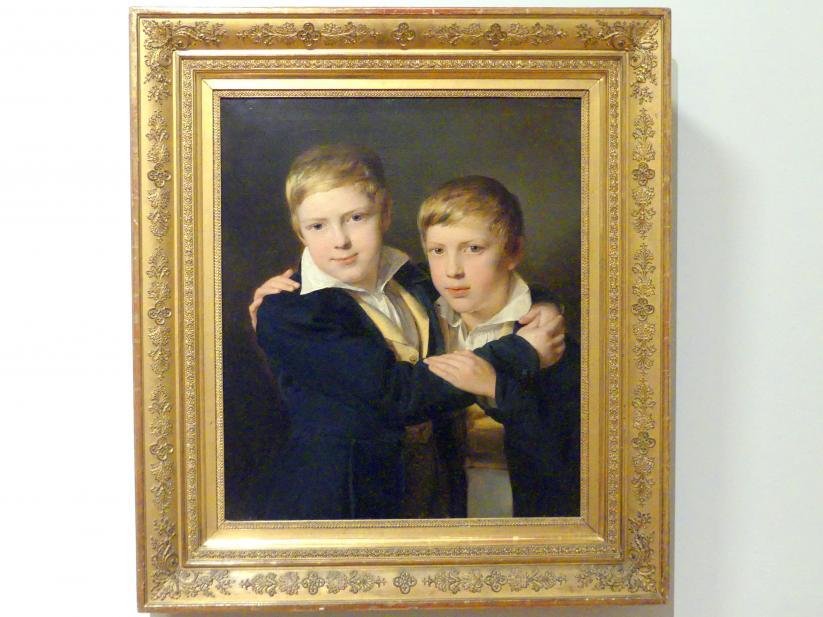Ferdinand Georg Waldmüller: Porträt der Markowsky-Brüder, 1832