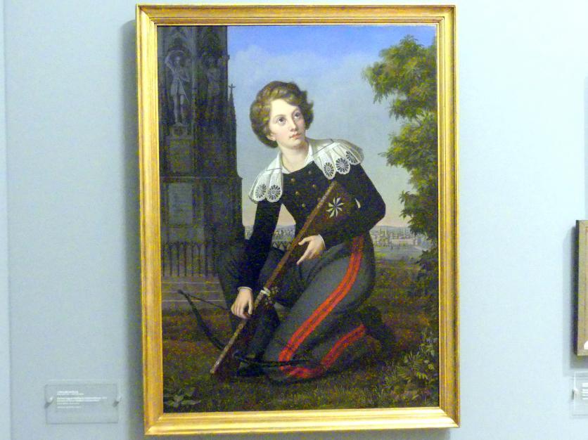 Caroline Bardua: Porträt des Adalbert von Preußen (1884–1948), Sohn Kaiser Wilhelms II., 1823