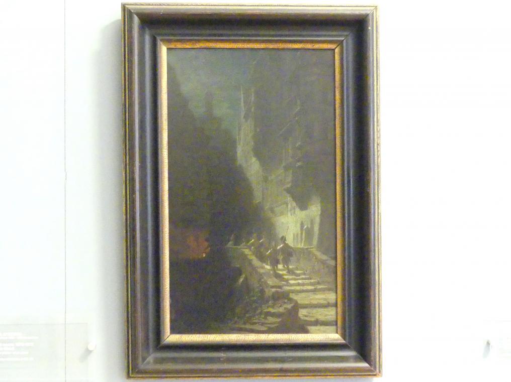 Carl Spitzweg: Nachtwache, 1870 - 1875