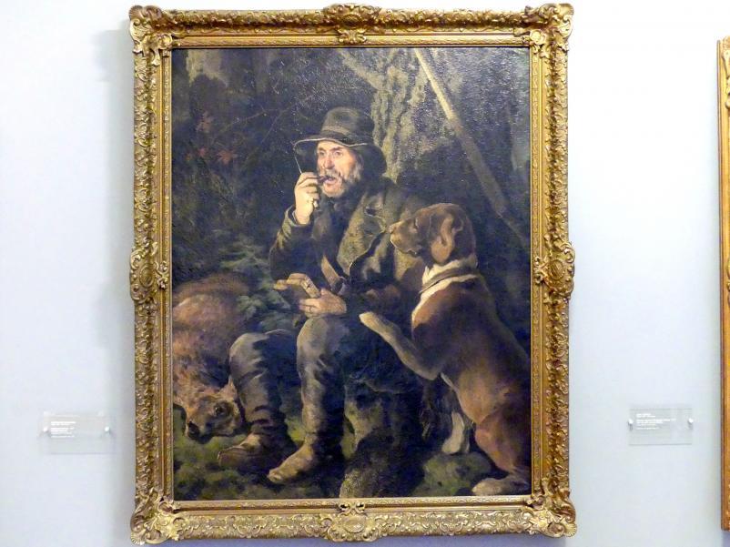 Ferdinand von Rayski: Der Treiber (Förster Bubenik), 1861