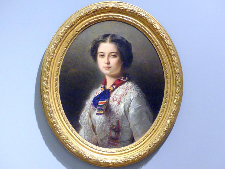 Franz Xaver Winterhalter: Porträt der Prinzessin Cecylia Lubomirska (1831-1904), 1853