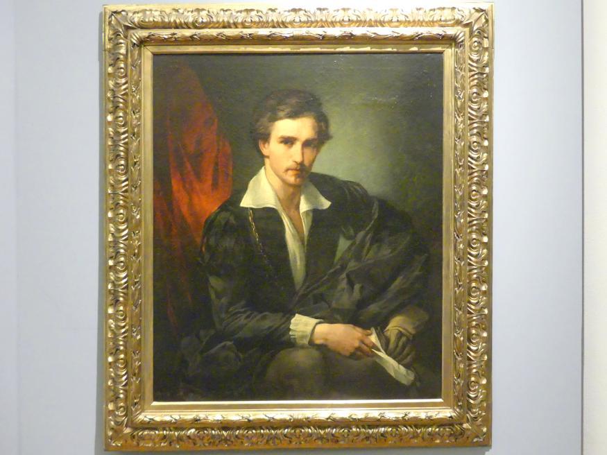Anselm Feuerbach: Selbstporträt, 1854