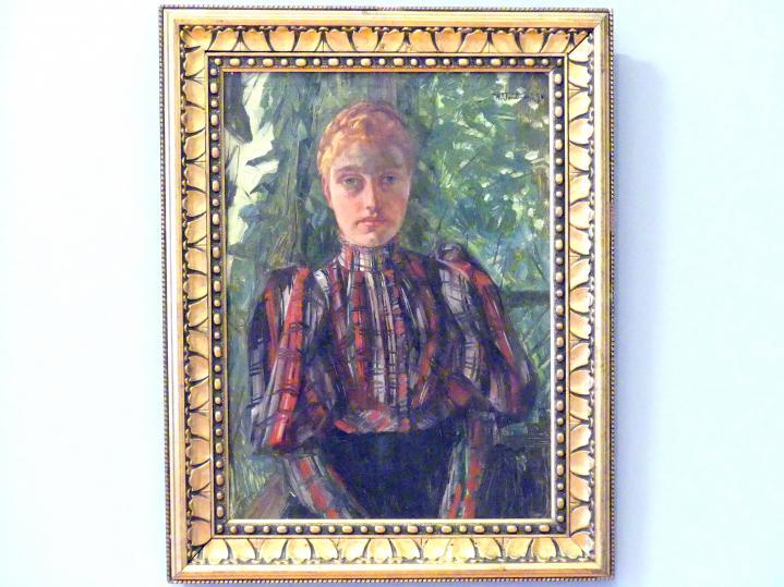 Wilhelm Trübner: Porträtstudie, 1894