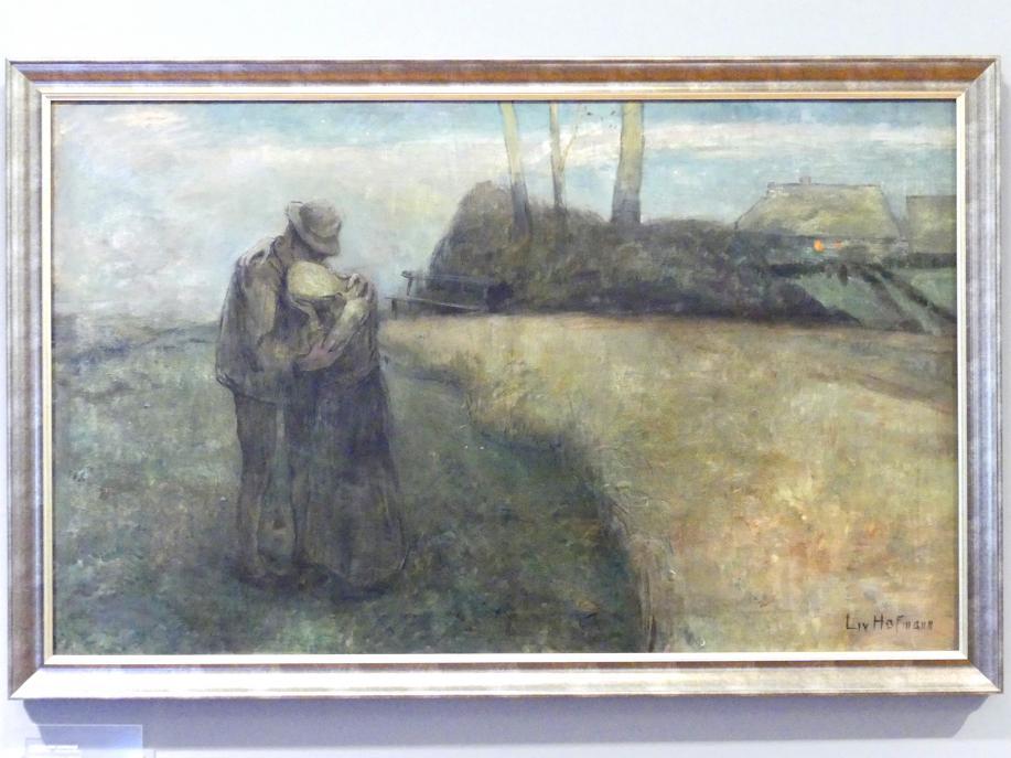 Ludwig von Hofmann: Qualen der Liebe, 1889
