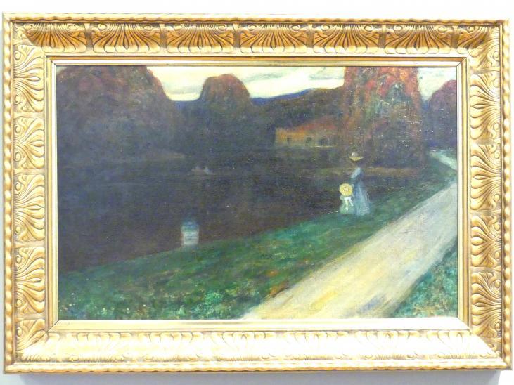 Wassily Kandinsky: Abend, 1902 - 1903
