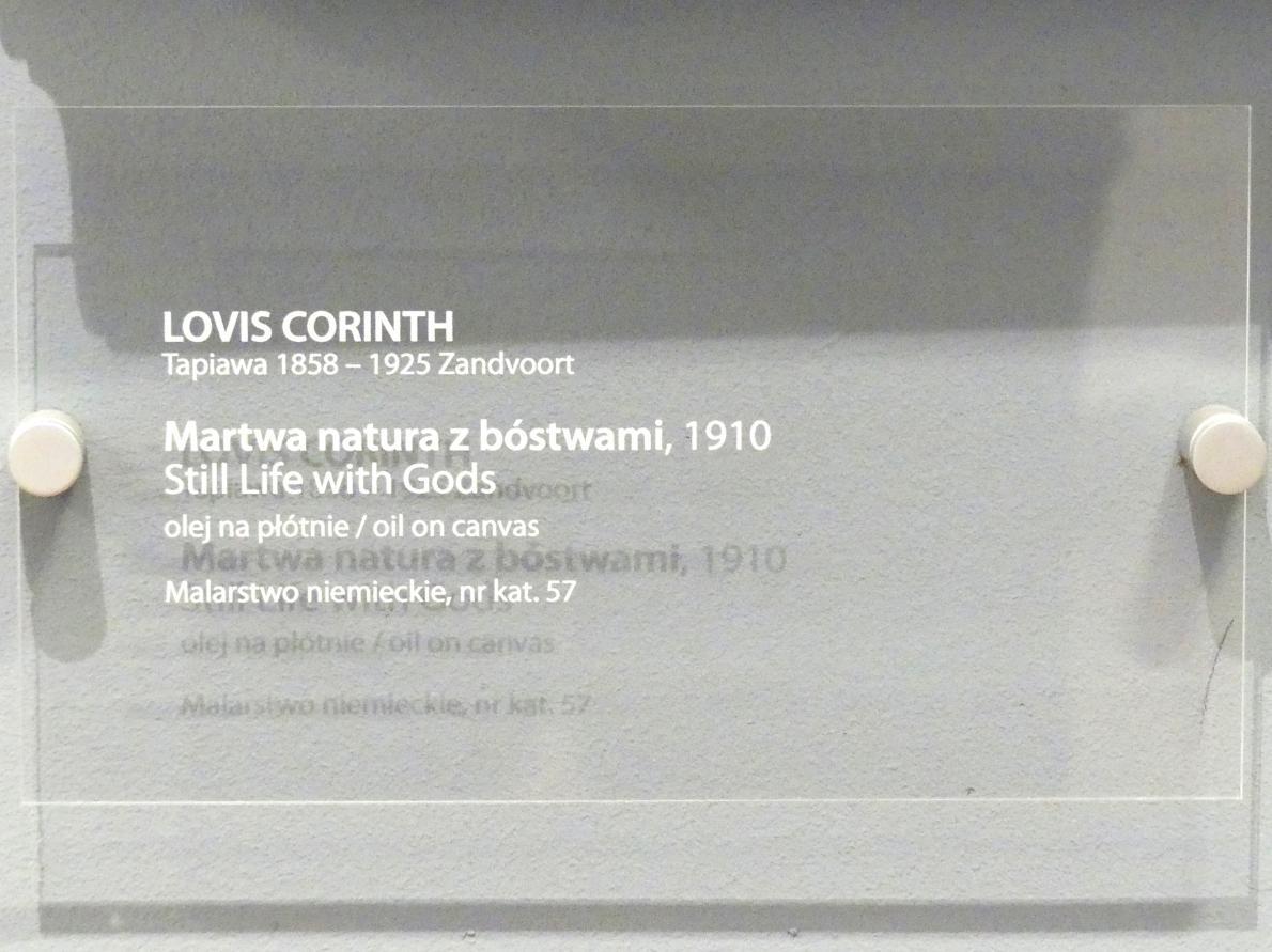 Lovis Corinth: Stillleben mit Göttern, 1910