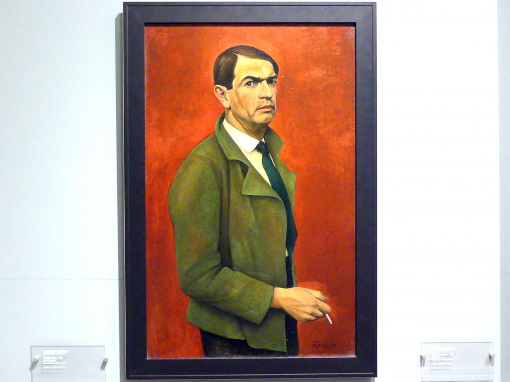 Alexander Kanoldt: Selbstporträt, 1929