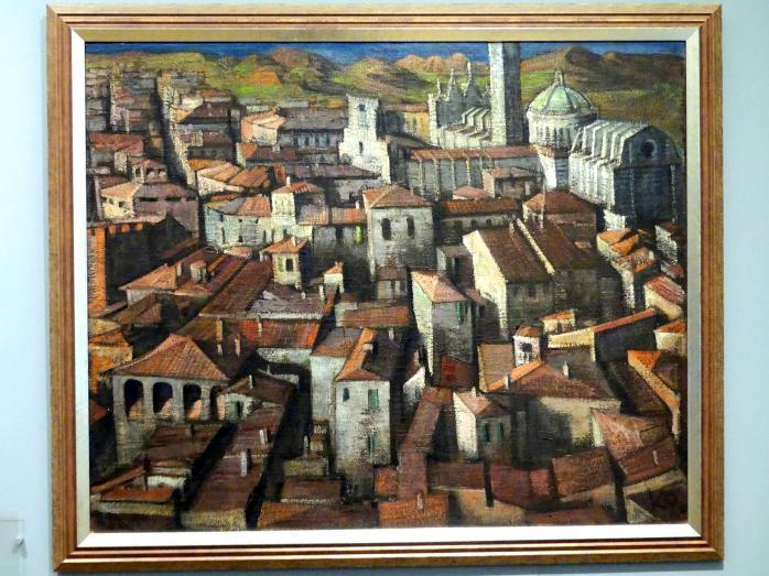 Ludwig Peter Kowalski: Siena, 1930
