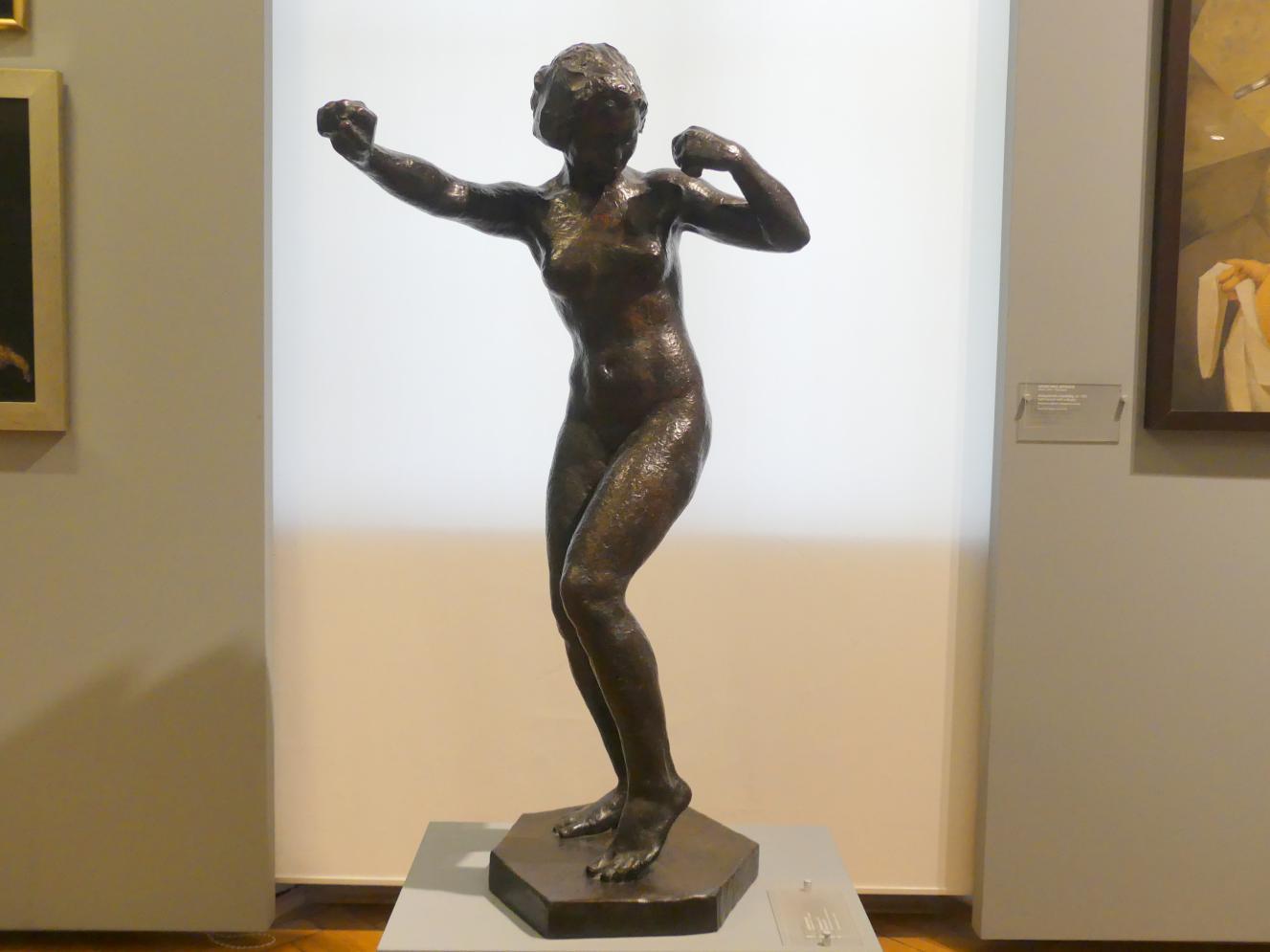 Georg Kolbe: Tanzendes Mädchen, 1911