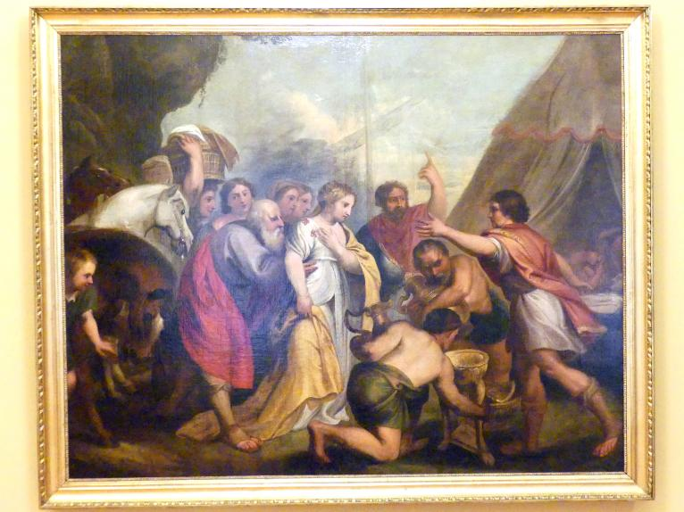 Franciszek Smuglewicz: Antwort des Achilles auf Agamemnons Botschaft, nach 1785