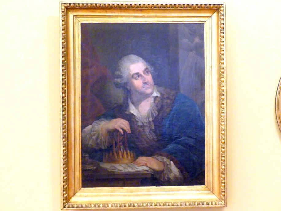 Marcello Bacciarelli (Nachfolger): Porträt des Königs Stanislaus II. August mit einer Sanduhr, nach 1793
