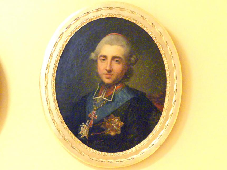 Marcello Bacciarelli: Porträt des Michał Jerzy Poniatowski (1736-1794), 1784 - 1786