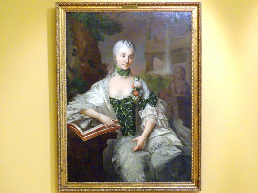 Marcello Bacciarelli: Porträt der Izabella Poniatowska (1730-1808), nach 1758