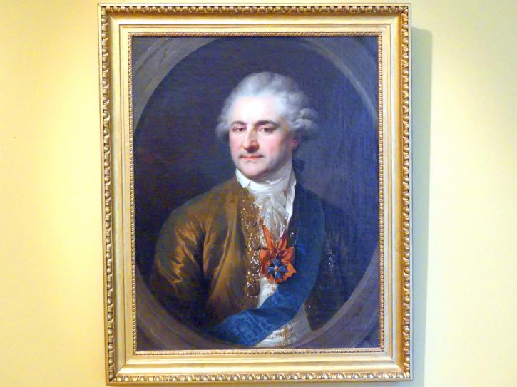 Johann Baptist Lampi der Ältere: Porträt des Königs Stanislaus II. August Poniatowski (1732-1798), Um 1790