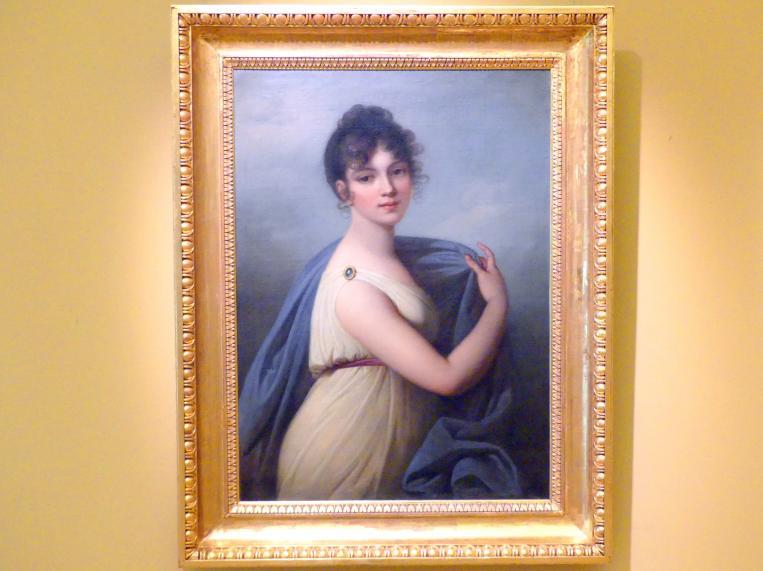Josef Mathias Grassi: Porträt der Klementyna Walicka, 1804
