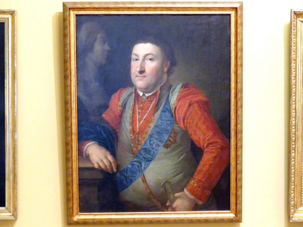 Józef Franciszek Pitschmann: Porträt eines Mannes im Kontusz (Männerbekleidung des polnischen Adels), 1789 - 1794