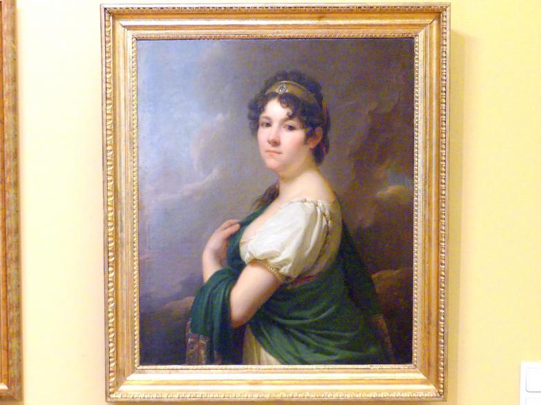 Johann Baptist Lampi der Ältere: Porträt der Ludwika Zofia Kossakowska (1779-1850), 1807