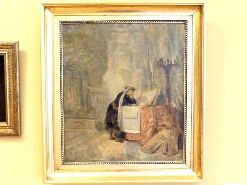 Jan Piotr Norblin: Jude beim Studium, 1781 - 1784