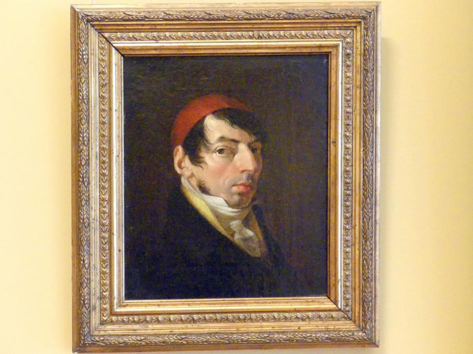 Jan Rustem: Selbstporträt mit orientalischer Mütze, nach 1813