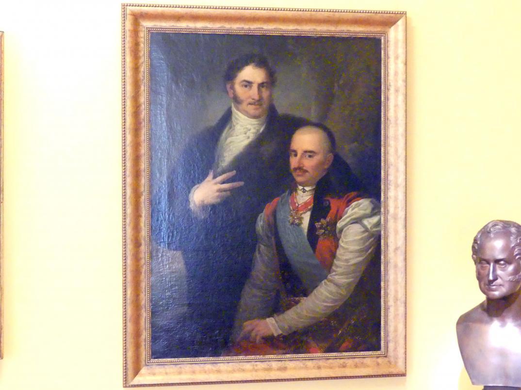 Franz Xaver Lampi: Porträt von Josef und Jan Mikorski, um 1820